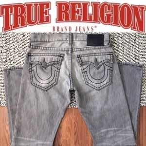 True Religion • Ricky Big T Straight Black Denim